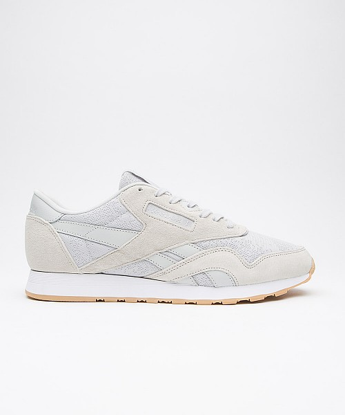 aeada1d37c99f SALE – Reebok Classic Nylon HS Trainer (grey and white)