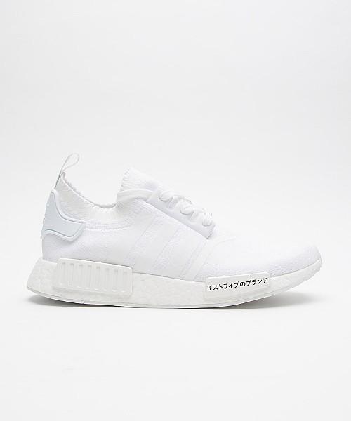 24a6abd46cb5c SALE – Adidas Originals NMD R1 Primeknit JPN Trainer (white)
